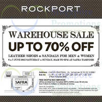 Read more about Rockport Warehouse Sale 6 - 7 Jun 2015
