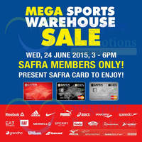 Read more about Royal Sporting House Mega Warehouse Preview Sale For SAFRA Members 24 Jun 2015