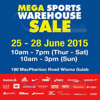 Read more about Royal Sporting House Warehouse SALE 25 - 28 Jun 2015