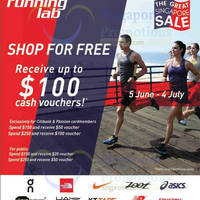 Read more about Running Lab Up To $100 Cash Vouchers Promotion 5 Jun - 4 Jul 2015