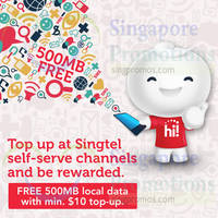 Read more about Singtel Prepaid Top-up & Get FREE 500MB Data 26 Jun 2015