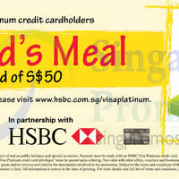 Read more about Swensen's Spend $50 & Get FREE Kid's Meal For HSBC Cardmembers 9 Jun - 31 Dec 2015