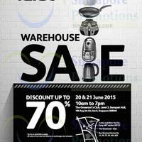 Read more about Tefal Warehouse Sale 20 - 21 Jun 2015