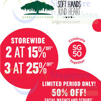 The Body Shop 15% to 25% Off Storewide GSS Promotion 2 Jun 2015