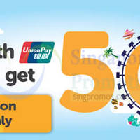 Read more about TigerAir 50% Off Promo Fares For UnionPay Cardmembers 2 - 3 Jun 2015