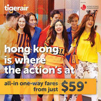 Read more about Tigerair $59 (all-in) Hong Kong Promo Fare 16 Jun 2015