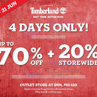 Read more about Timberland Outlet Store Sale @ IMM 18 - 21 Jun 2015