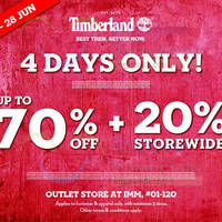 Read more about Timberland Outlet Store Sale @ IMM 25 - 28 Jun 2015