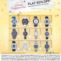 Read more about Titan Watches 50% Off GSS Offers 6 Jun - 26 Jul 2015