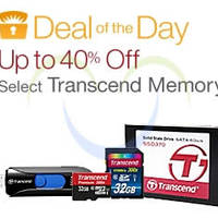 Read more about Transcend Up To 40% Off Memory Products 24hr Offer 11 - 12 Jun 2015