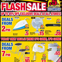 Read more about Courts Up To 85% Off 1-Day Offers 12 Jun 2015