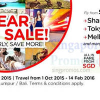 Read more about Air Asia fr $35 All-in Promo Fares 15 - 21 Jun 2015