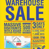 Yonex Warehouse SALE 5 - 7 Jun 2015