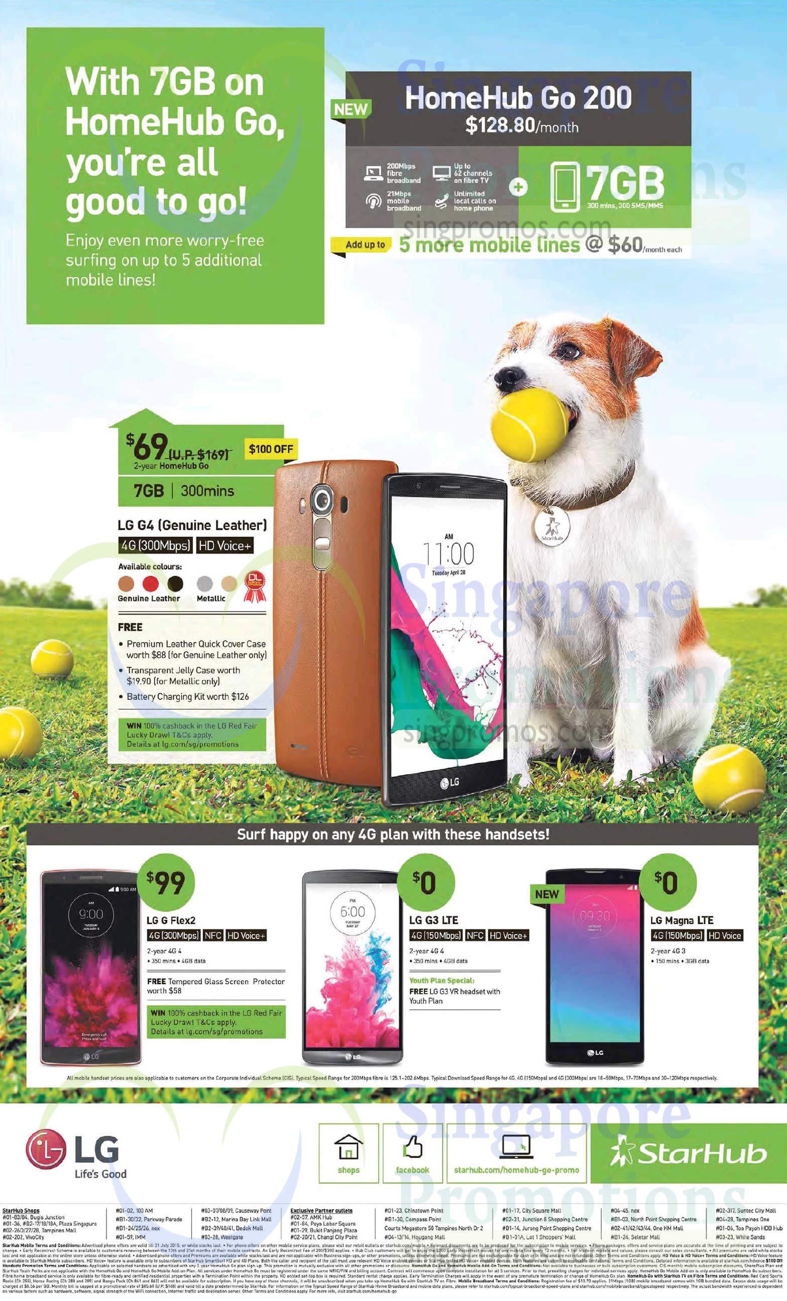 128.80 HomeHub Go 200, LG G4, LG G Flex 2, LG G3, LG Magna