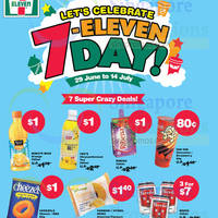 7-Eleven Celebration Day Specials 1 - 14 Jul 2015