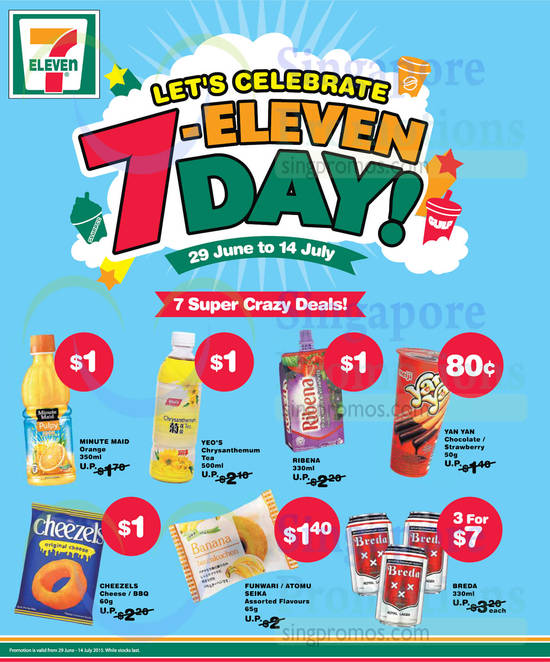 7 super Crazy Deals Orange Drink, Tea, Fruit Juice, Chocolate, Cheezels