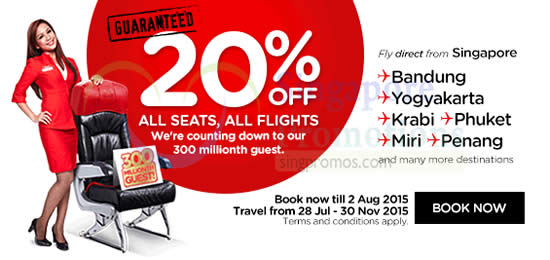 Air Asia 20 Percent Off
