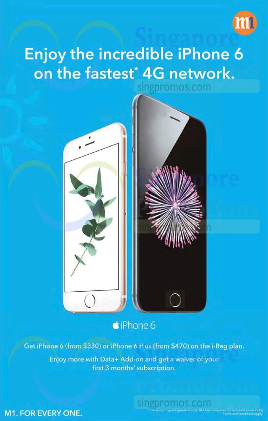 Apple iPhone 6 with i-Reg Plan
