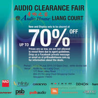 Read more about Audio House Audio Clearance Fair @ Liang Court 17 - 26 Jul 2015