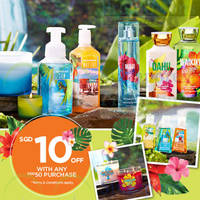 Read more about Bath & Body Works Get $10 Off With $50 Purchase 24 Jul - 2 Aug 2015