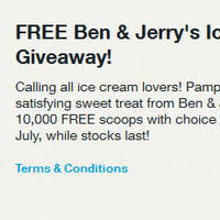 Read more about Ben & Jerry's FREE Ice Cream For Singtel Customers 9 - 22 Jul 2015