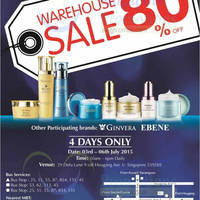Read more about Bio-Essence, Ebene & Ginvera Warehouse SALE 3 - 6 Jul 2015