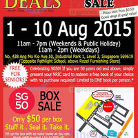 Read more about SG Book Deals Warehouse Sale 1 - 10 Aug 2015
