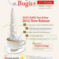 Read more about Bugis+ FREE Taiwanese Snacks & Bubble Milk Tea Giveaway 17 - 19 Jul 2015