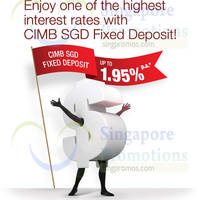 Read more about CIMB Up To 1.95% p.a. SGD Fixed Deposit Offer 20 - 31 Jul 2015
