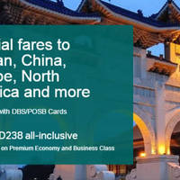 Read more about Cathay Pacific Promo Fares for DBS/POSB Cardmembers 16 Jul - 11 Aug 2015