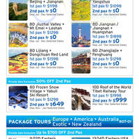 Chan Brothers Travel Private Sale 3 - 5 Jul 2015