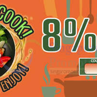 "Read more about Deal.com.sg Ensogo 8% OFF NO Min Spend ""You Can Cook"" Deals 1-Day Coupon Code 26 Jul 2015"