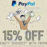 Deal.com.sg 15% OFF Beauty Services Deals 1-Day Promo 31 Jul 2015