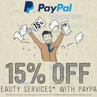 Deal.com.sg 15% OFF Beauty Services Deals 1-Day Promo 31 Jul 2015