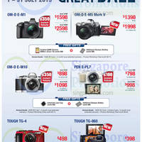 Olympus Digital Cameras & Voice Recorders Offers 1 - 31 Jul 2015