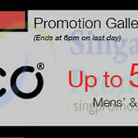 Ecco Promotion @ Isetan Scotts 7 - 13 Aug 2015