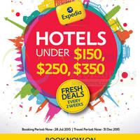 Read more about Expedia SG50 Travel Deals 15 - 28 Jul 2015