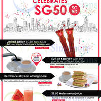 Food Junction SG50 Specials 1 - 31 Aug 2015