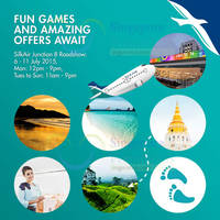SilkAir Roadshow ft 1 for 1 Travel Deals @ Junction 8 Mall 6 - 11 Jul 2015