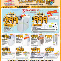 Giant Hypermarket Cooling Appliances Offers 3 - 16 Jul 2015