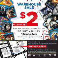 Read more about HNV DVD & Blu-Ray Warehouse Sale 20 - 26 Jul 2015