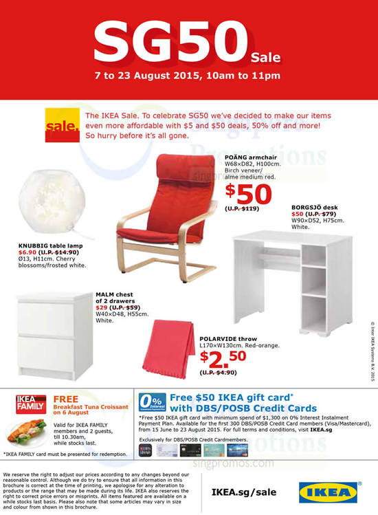 IKEA Mega Sale 21 Jul 2015