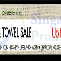 Read more about Isetan Bedlinen & Towel Sale @ Tampines Mall 11 - 17 Aug 2015