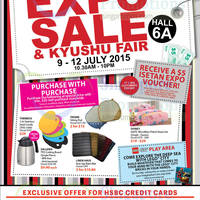 Read more about Isetan Expo Sale & Kyushu Fair @ Singapore Expo 9 - 12 Jul 2015