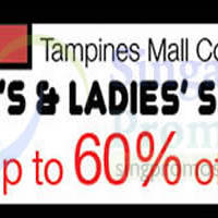 Isetan Men's & Ladies' Sale @ Tampines Mall 5 - 11 Aug 2015