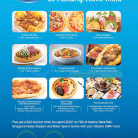 Read more about Kallang Wave 1 for 1 Dining Deals & More For Citibank Cardmembers 19 Jul - 31 Aug 2015