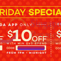 Lazada $10 to $15 OFF min $40 Spend Storewide Coupon Codes 3 Jul 2015