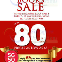 Read more about MPH Bookstores Books SALE @ Singapore Expo 7 - 10 Aug 2015