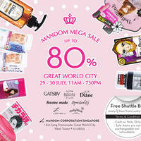 Read more about Mandom Warehouse Sale @ Great World City 29 - 30 Jul 2015