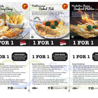 Read more about Manhattan Fish Market 1 For 1 Dine-in Coupons 24 Jul - 30 Sep 2015